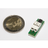1-Wire Temperaturfühler im Vergleich mit 2-Euro-Münze