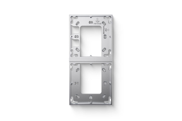 Double Mounting Bracket Silver