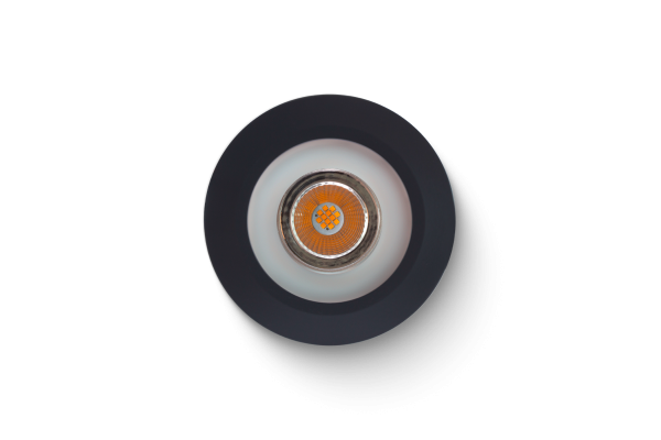LED Spot bianco caldo antracite