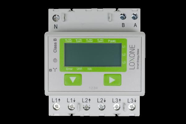 Loxone Modbus Energiezähler - 3-phasig