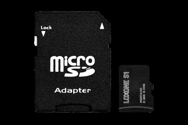 SD-Karte mit Firmware für Audioserver