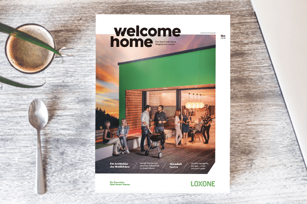 welcome home magazine - 1pc FR
