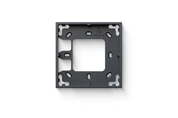 Montážny rámček 1 modul antracitová