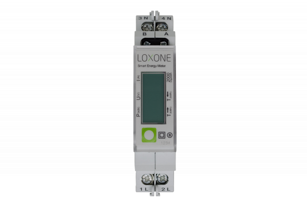 Loxone Modbus elektroměr - 1-fázový